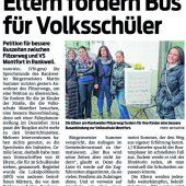 Rankweil: Kein neuer Bus zur Volksschule