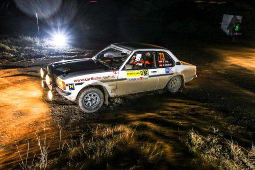 Walter Terler war in seinem Opel Ascona schnell unterwegs und feierte einen Sieg. Foto: BMP-MOTORSPORT