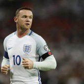Rooney mit der Entschuldigung für Party-Fotos