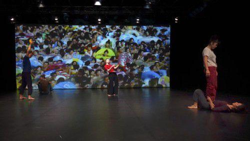 """""""What kind of animal is?"""", aufgeführt von der Tanz Company Gervasi, wurde am Dornbirner Spielboden bejubelt. FotoS: Rudolf Sagmeister"""