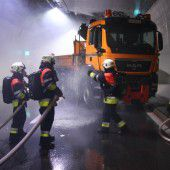 Erfolgreiche Übung des Ernstfalls im Tunnel
