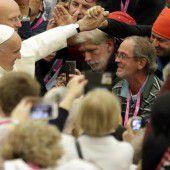Der Papst setzt ein  Zeichen für die Armen