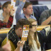 Verankerung für Schülerparlament