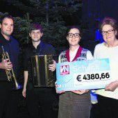 Viel Spaß, Freude und 4380,66 Euro für Ma hilft