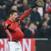 Lewandowski überrascht mit Baby-Jubel
