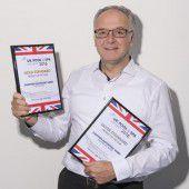 Zwei internationale Preise für Gantner