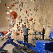 Ballons von Menschen aus aller Welt