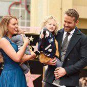 Ryan Reynolds zeigt erstmals seine Kinder