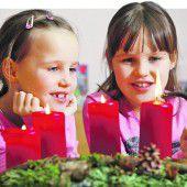 Vorfreude auf Weihnachten und das Christkind