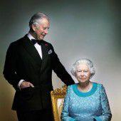 Neues Foto von der Queen mit Prinz Charles