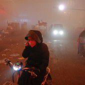 Dichter Smog nimmt Menschen in Nordchina die Luft