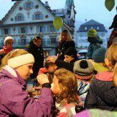Kindersilvester am Dornbirner Marktplatz