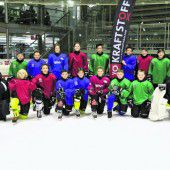 Eishockey-Nachwuchs bei Arge-Alp-Turnier