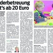 Kindergarten wird teurer
