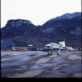 vorarlberg einst und jetzt. Flugplatz Hohenems