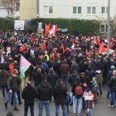 Kundgebung für Aleppo