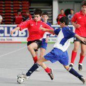Nachwuchselite spielt Futsal