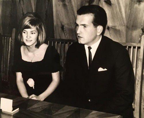 Am 10. Dezember 1966 gab sich das Paar das Jawort.