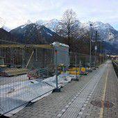 Neuer Bahnsteig für Mobähle