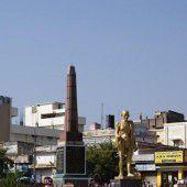 Entspannen am Gandhi-Square