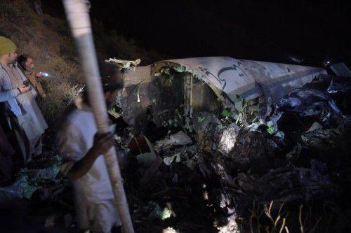 An Bord der pakistanischen Passagiermaschine befanden sich 42 Passagiere, darunter zwei Männer aus Österreich. Foto: AFP