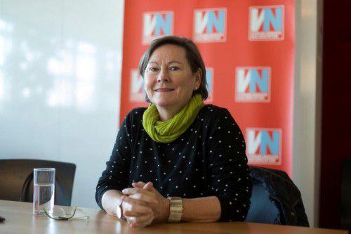 """Anna Franz: """"Ich lerne sehr gerne neue Kulturen kennen.""""  VN/Paulitsch"""