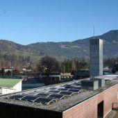 Sonnenstrom vom Dach der Frastanzer Wehr