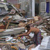 Tausende nach Beben in Notunterkünften