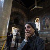 Bombenattentat während der Messe