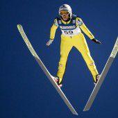 Skisprung-Damen in Form