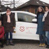 Ein Elektroauto für Göfner Pflegeverein