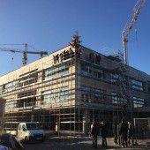 Campus Schendlingen winterfest und im Plan