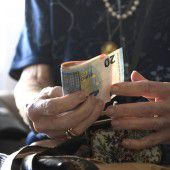 Mindestpensionen gehen zurück