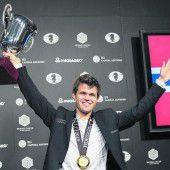 Magnus Carlsen ist zum dritten Mal Weltmeister