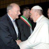 Kennelbacher zu Besuch in Rom bei Papst Franziskus