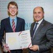 Dieter Reumiller ist der Zivildiener des Jahres