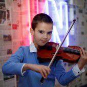 Junger Musiker will hoch hinaus