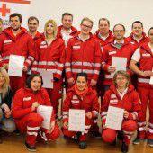Fachausbildung für 14 Rotkreuz-Mitarbeiter