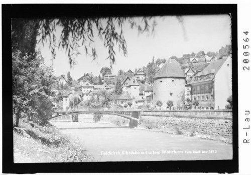 Die Franz-Joseph-Brücke im Jahr 1956.  Risch-Lau, Landesbibliothek