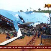 Voll besetzte Kirche  in Nigeria eingestürzt