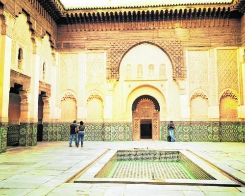 Die Koranschule gehört zu den schönsten Sehenswürdigkeiten von Marrakesch. Fotos: Beate Rhomberg (4)