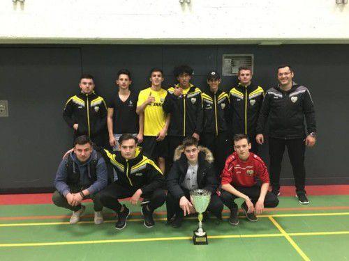 Die U18B Mannschaft des SCR Altach. Foto: verein