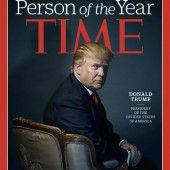 Trump auf dem Time-Cover