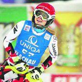 Lara Gut gibt auch im Slalom Gas