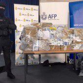 Rekordmenge an Kokain sichergestellt