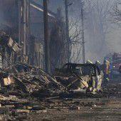 Bulgarisches Dorf nach  Bahnunglück verwüstet