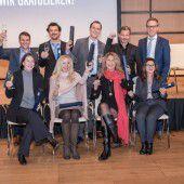 Zehn Vorarlberger unter den Absolventen