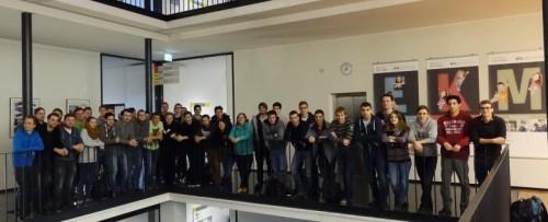 Fachkräfte von morgen – Schülerinnen und Schüler des ersten Jahrgangs des Aufbaulehrgangs. Fotos: HTL Bregenz