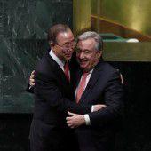 Guterres als neuer UN-Chef vereidigt