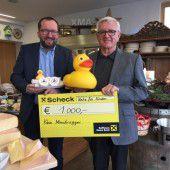 Käse-Spezialist  unterstützt Netz für Kinder